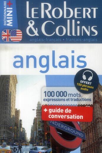 Couverture du livre « LE ROBERT & COLLINS ; MINI + ; anglais » de Collectif aux éditions Le Robert