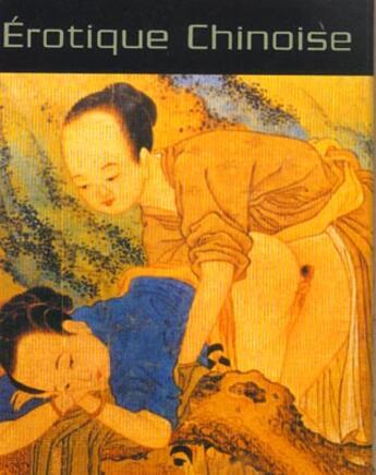 Couverture du livre « Erotique Chinoise » de Pande aux éditions Tredaniel