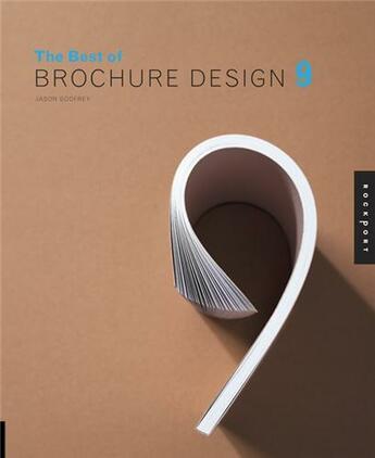 Couverture du livre « The best of brochure design 9 (hardback) » de Godfrey Jason aux éditions Rockport