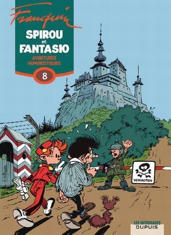 Couverture du livre « Les aventures de Spirou et Fantasio T.8 ; aventures humoristiques (1961-1967) » de Andre Franquin aux éditions Dupuis