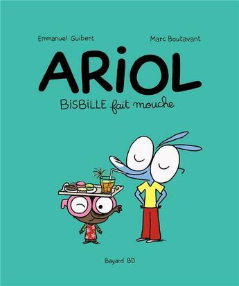 Couverture du livre « Ariol T.5 ; Bisbille fait mouche » de Emmanuel Guibert et Marc Boutavant aux éditions Bd Kids