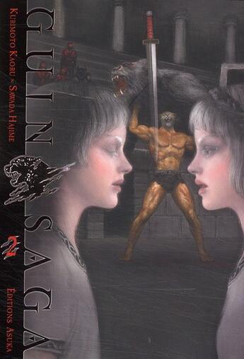 Couverture du livre « Guin saga t.2 » de Kaoru Kurimoto aux éditions Kaze