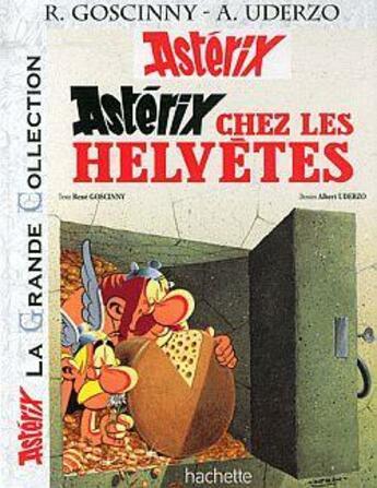 Couverture du livre « Astérix chez les Helvètes » de Albert Uderzo et Rene Goscinny aux éditions Hachette