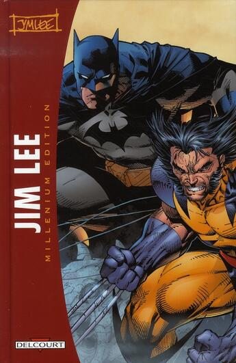 Couverture du livre « Art of jim lee ; millenium edition » de Jim Lee aux éditions Delcourt
