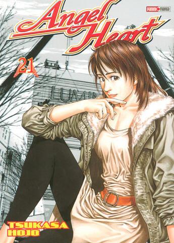 Couverture du livre « Angel heart t.21 » de Hojo-T aux éditions Panini