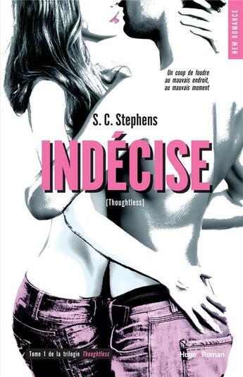 Couverture du livre « Indécise » de S. C. Stephens aux éditions Hugo Roman