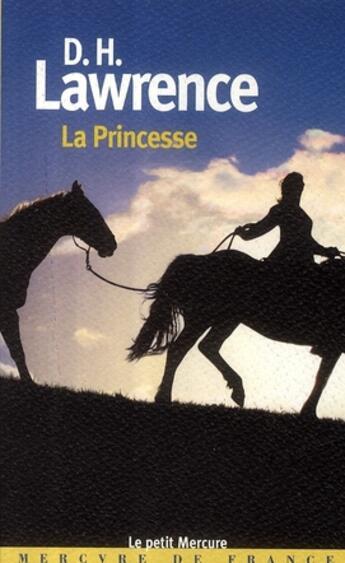 Couverture du livre « La princesse » de David Herbert Lawrence aux éditions Mercure De France