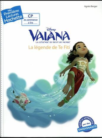 Couverture du livre « Princesse Disney Vaiana » de Agnes Berger aux éditions Hachette Jeunesse