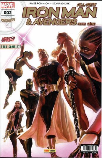 Couverture du livre « All-New Iron Man & Avengers Hors Serie N.2 » de All-New Iron Man & Avengers Hors Serie aux éditions Panini