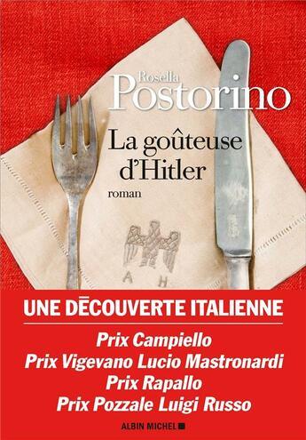 Couverture du livre « La goûteuse d'Hitler » de Rosella Postorino aux éditions Albin Michel