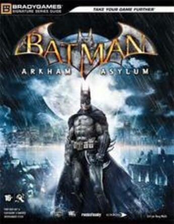 Couverture du livre « Batman ; Arkman asylum » de Bradygames aux éditions Pearson
