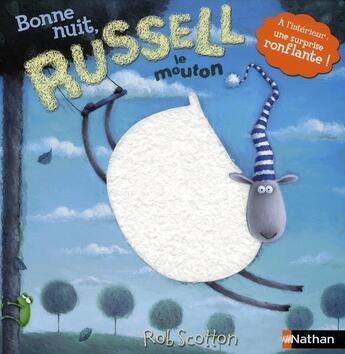 Couverture du livre « Bonne nuit, Russell le mouton » de Rob Scotton aux éditions Nathan
