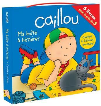 Couverture du livre « Caillou ; ma boîte à histoires » de Joceline Sanschagrin aux éditions Chouette