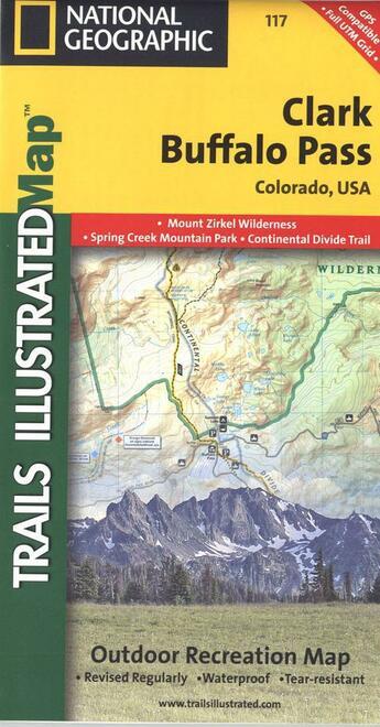 Couverture du livre « ** Clark -Buffalo Pass » de Xxx aux éditions National Geographic Us