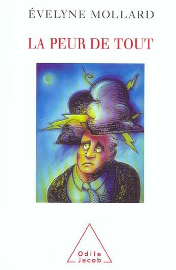 Couverture du livre « La peur de tout » de Evelyne Mollard aux éditions Odile Jacob