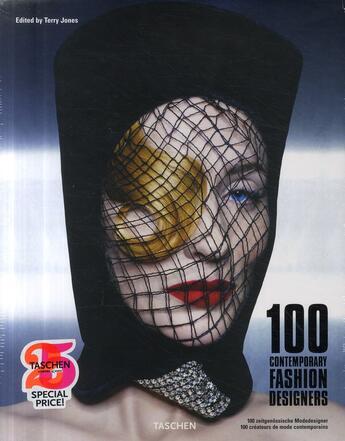 Couverture du livre « 100 contemporary fashion designers » de Terry Jones aux éditions Taschen