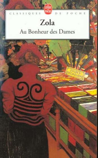 Couverture du livre « Au bonheur des dames » de Emile Zola aux éditions Lgf