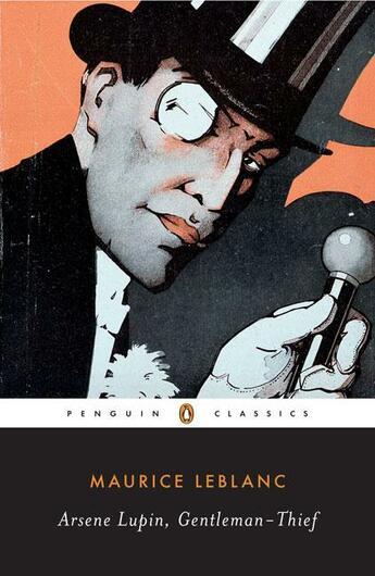 Couverture du livre « ARSENE LUPIN, GENTLEMAN-THIEF » de Maurice Leblanc aux éditions Adult Pbs