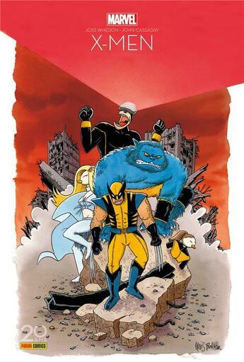 Couverture du livre « X-Men t.1 ; surdoués » de Joss Whedon et John Cassaday aux éditions Panini