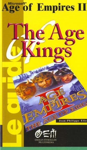 Couverture du livre « Age Of Empires Ii » de Elie aux éditions Osman Eyrolles Multimedia