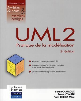 Couverture du livre « UML 2 synthex (2e édition) » de  aux éditions Pearson