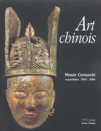 Couverture du livre « Art chinois » de Collectif aux éditions Paris-musees