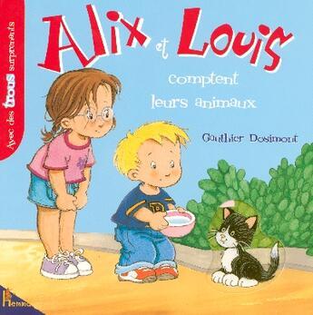 Couverture du livre « Alix Et Louis Comptent Animaux » de Collectif aux éditions Hemma