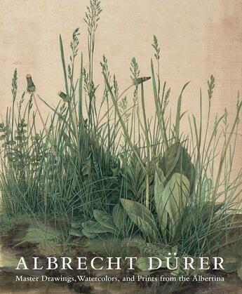 Couverture du livre « Albrecht durer - master drawings watercolors and prints from the albertina » de Robison Andrew aux éditions Prestel