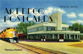 Couverture du livre « Art Deco Postcards /Anglais » de Patricia Bayer aux éditions Thames & Hudson