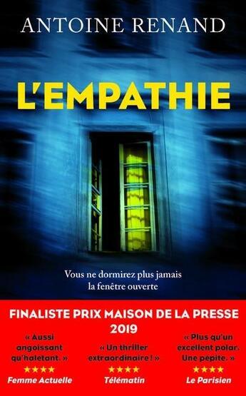 Couverture du livre « L'empathie » de Antoine Renand aux éditions Robert Laffont