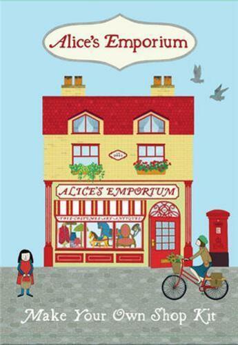 Couverture du livre « Alice Emporium Make Your Own Shop Kit /Anglais » de Alice Melvin aux éditions Tate Gallery