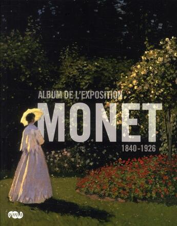 Couverture du livre « Album de l'exposition Monet 1840-1926 » de Collectif aux éditions Reunion Des Musees Nationaux