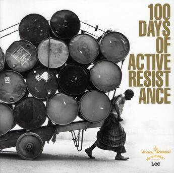 Couverture du livre « 100 days of active resistance » de Vivienne Westwood aux éditions Damiani