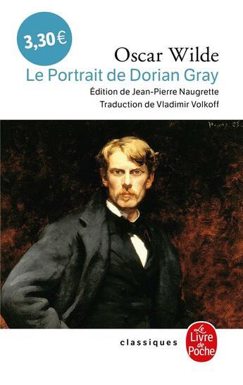Couverture du livre « Le portrait de Dorian Gray » de Oscar Wilde aux éditions Lgf