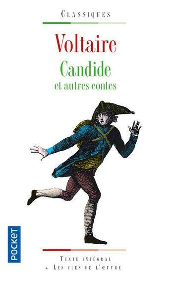 Couverture du livre « Candide ; et autres contes » de Voltaire aux éditions Pocket
