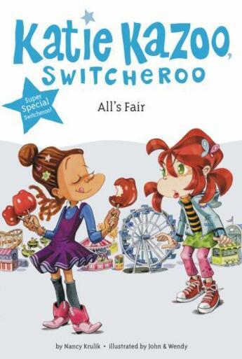 Couverture du livre « All's Fair » de Nancy Krulik aux éditions Penguin Group Us
