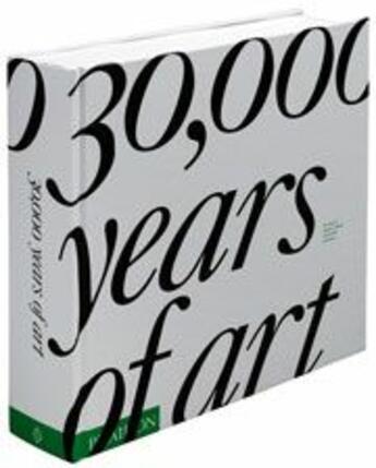 Couverture du livre « 30 000 years of art » de Collectif aux éditions Phaidon