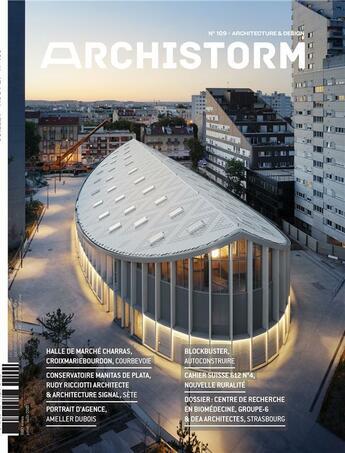 Couverture du livre « Archistorm n 109 - juillet 2021 » de Collectif aux éditions Archistorm
