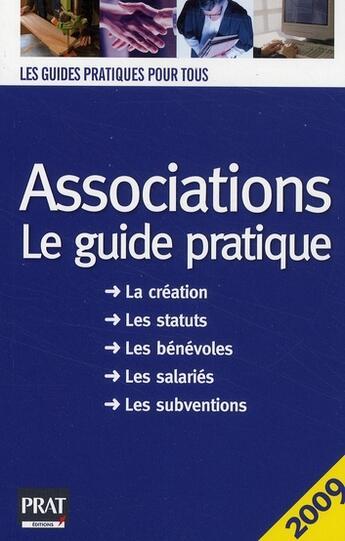 Couverture du livre « Associations (édition 2009) » de Le Gall aux éditions Prat