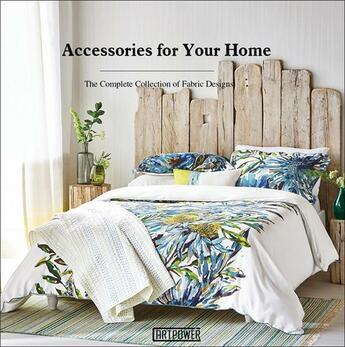Couverture du livre « Acessories for your home ; the complete collection of fabric designs » de Li Aihong aux éditions Antique Collector's Club