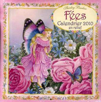 Couverture du livre « Calendrier des fées 2010 » de Collectif aux éditions Editions 365