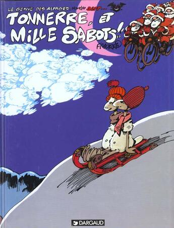 Couverture du livre « Le génie des alpages T.7 ; tonnerre, et mille sabots !! » de F'Murrr aux éditions Dargaud