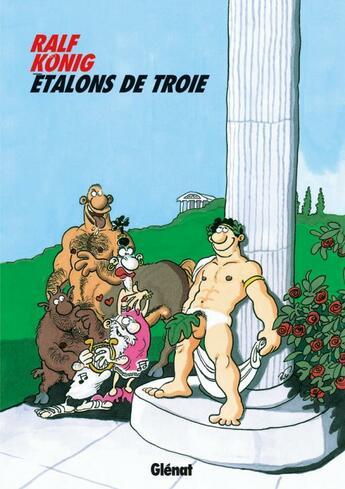 Couverture du livre « Étalons de Troie » de Konig-R aux éditions Glenat