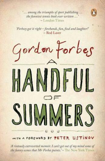 Couverture du livre « A Handful of Summers » de Forbes Gordon aux éditions Penguin Books Ltd Digital