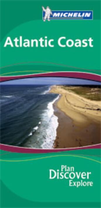 Couverture du livre « LE GUIDE VERT T.1380 ; Atlantic coast » de Collectif Michelin aux éditions Michelin