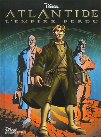 Couverture du livre « Atlantide, L'Empire Perdu, Disney Cinema » de Disney-W aux éditions Disney Hachette