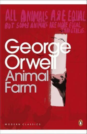 Couverture du livre « ANIMAL FARM » de George Orwell aux éditions Penguin Books Uk
