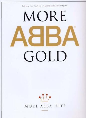 Couverture du livre « Abba more gold » de Abba aux éditions Id Music