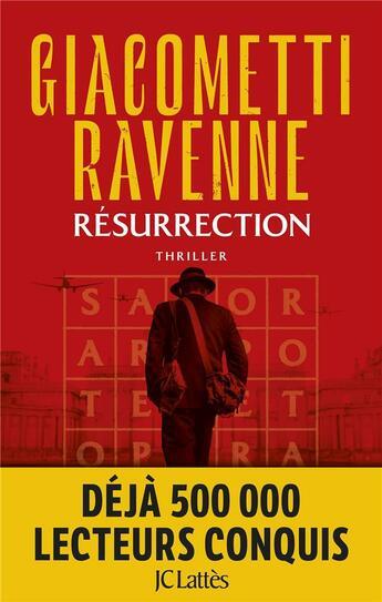 Couverture du livre « Le cycle du soleil noir T.4 ; résurrection » de Eric Giacometti et Jacques Ravenne aux éditions Lattes
