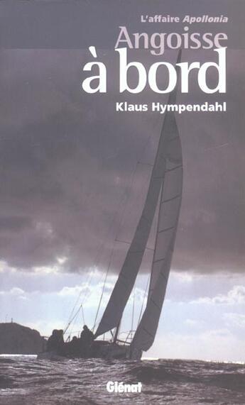 Couverture du livre « Angoisse a bord » de Klaus Hympendahl aux éditions Glenat